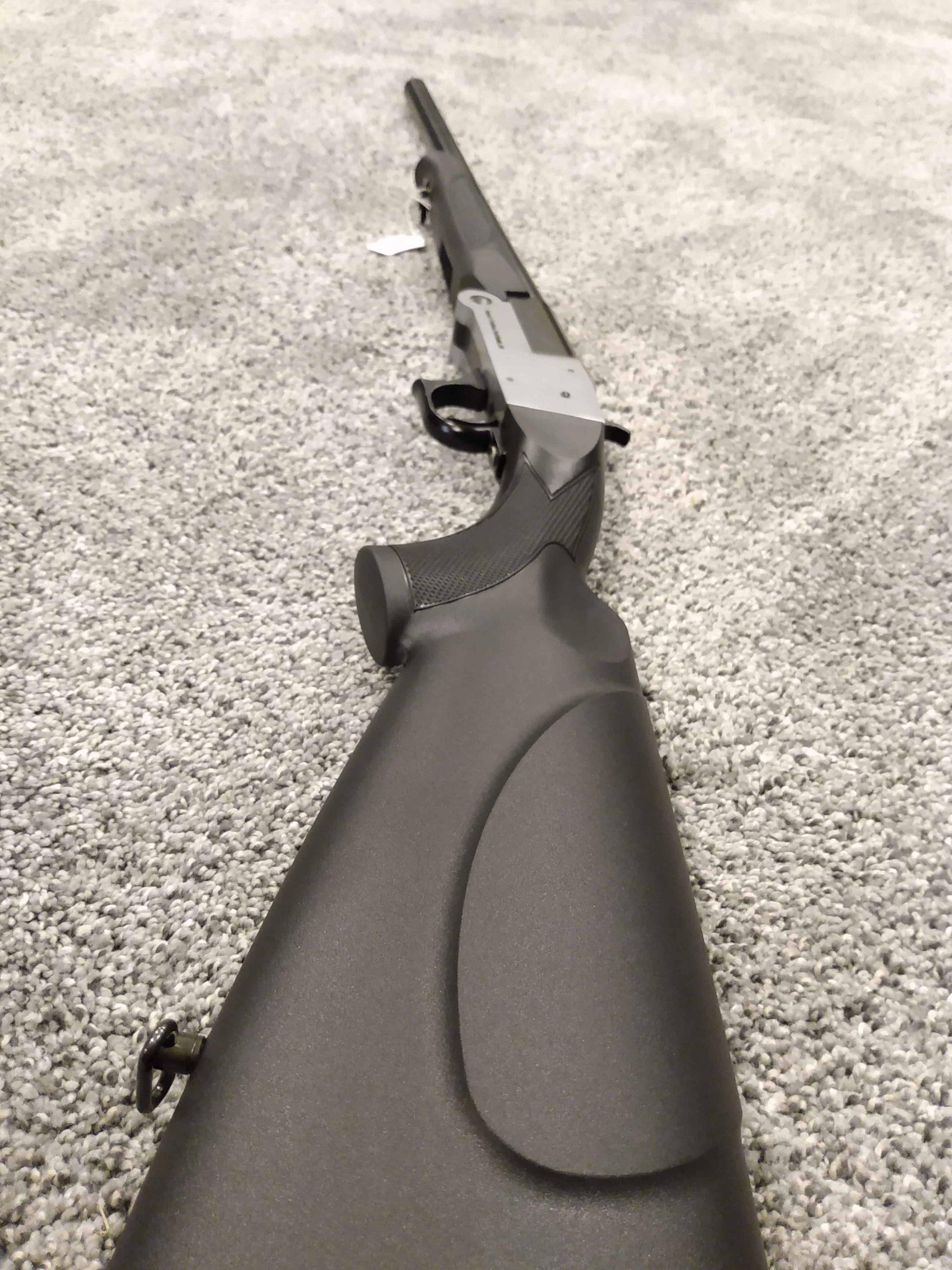 Single Shot Shotgun Side